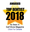 Award for Top Dentist 2018